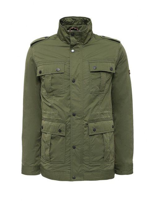 Tommy Hilfiger Denim | Мужская Хаки Куртка Утепленная