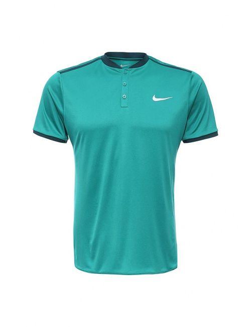 Nike | Мужское Зелёное Поло