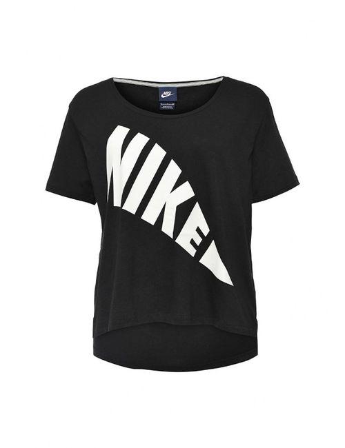 Nike   Женская Чёрная Футболка