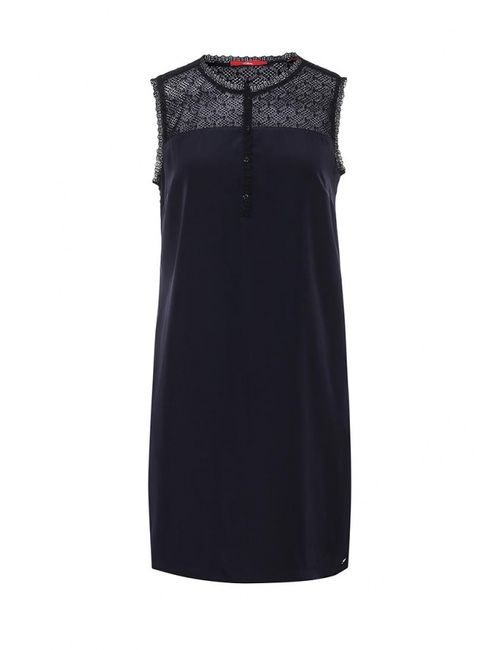 s.Oliver | Женское Синее Платье