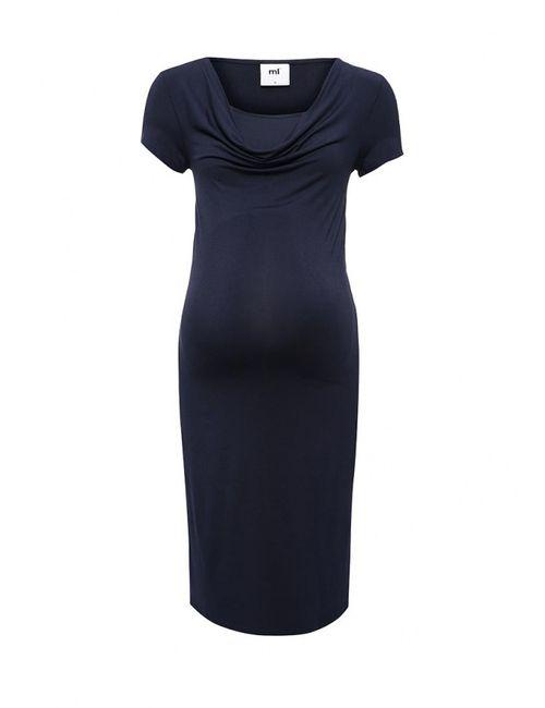 Mama Licious | Женское Синее Платье Mamalicious
