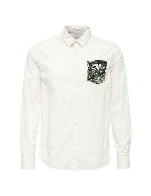 Pepe Jeans   Мужская Белая Рубашка
