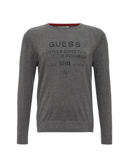 Guess | Мужской Серый Джемпер Jeans