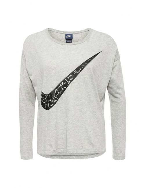 Nike | Женский Серый Лонгслив