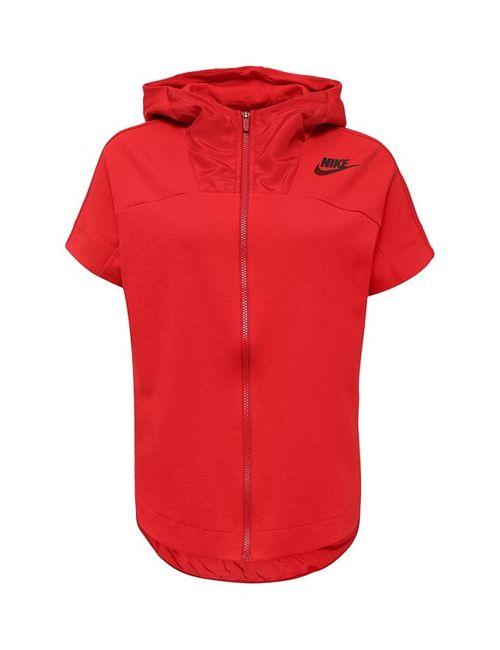 Nike | Женская Красная Толстовка