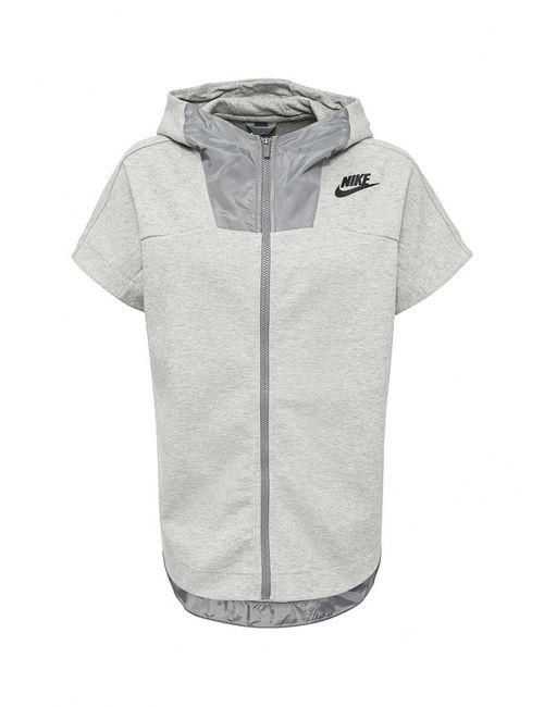 Nike | Женская Серая Толстовка