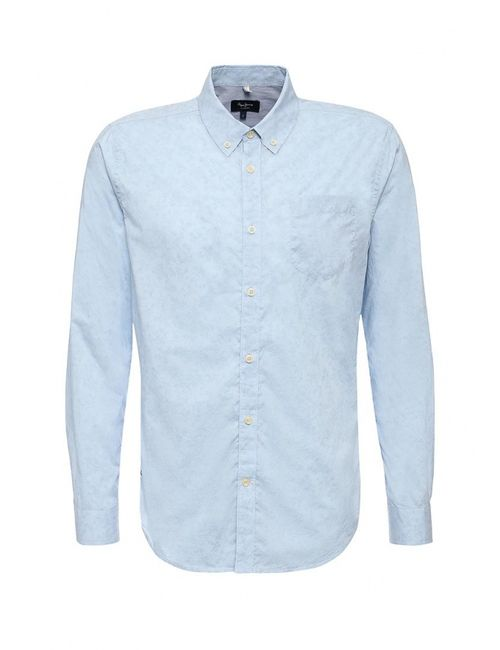 Pepe Jeans | Мужская Голуба Рубашка