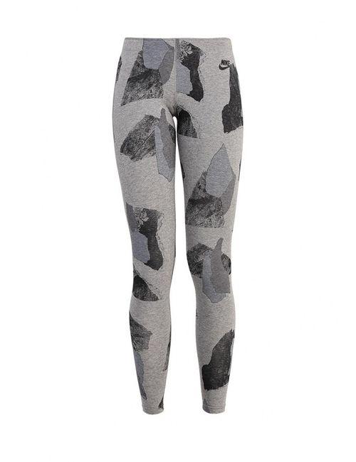 Nike | Женские Серые Леггинсы