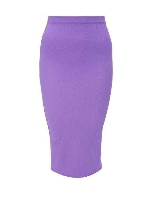 Edge Clothing | Женская Фиолетовая Юбка
