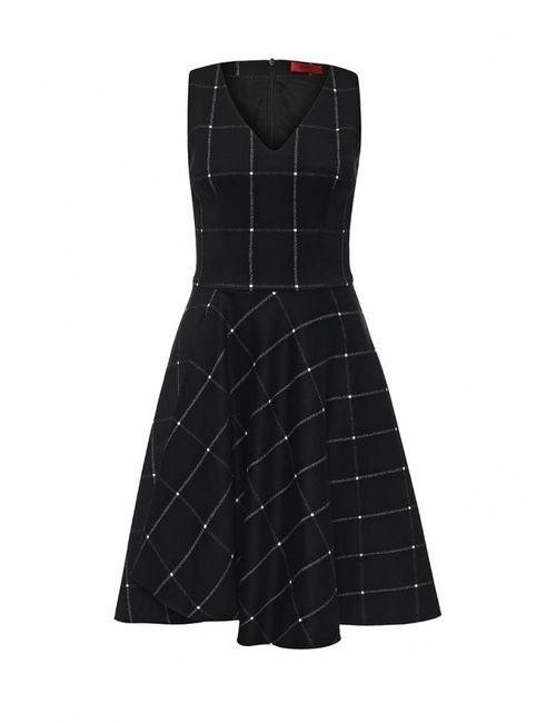 Hugo | Женское Черный Платье