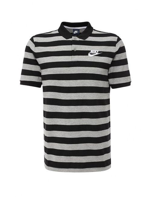 Nike | Мужское Серое Поло