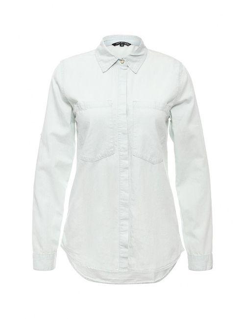 Top Secret   Женская Голуба Рубашка