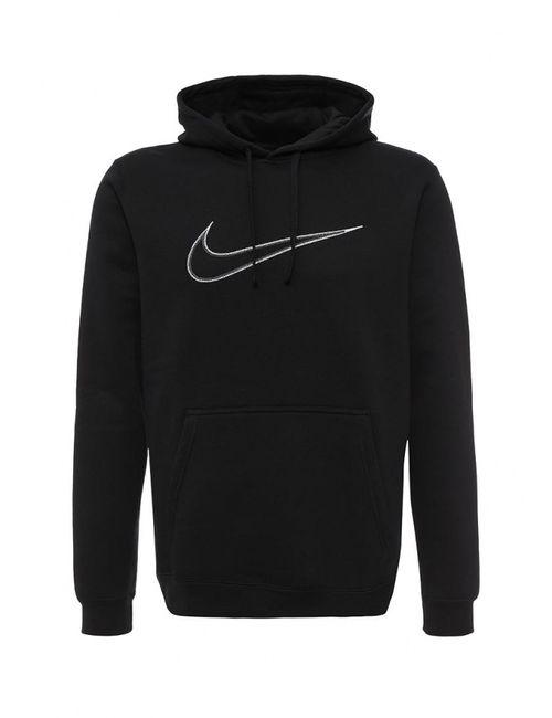 Nike   Мужские Чёрные Худи