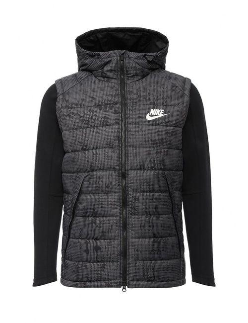 Nike | Мужская Серая Куртка Утепленная