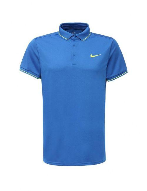 Nike | Мужское Синее Поло