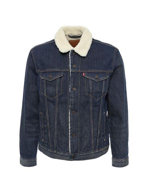 Levi's® | Мужская Синяя Куртка Джинсовая