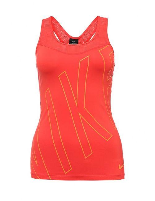 Nike | Женский Красный Топ Спортивный
