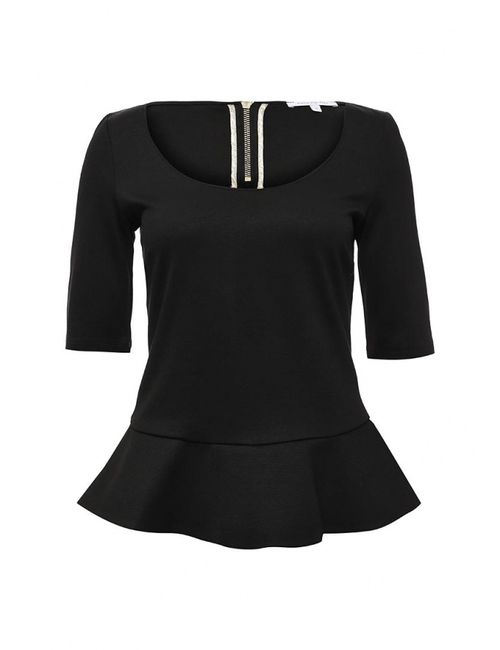 Patrizia Pepe | Женская Чёрная Блуза