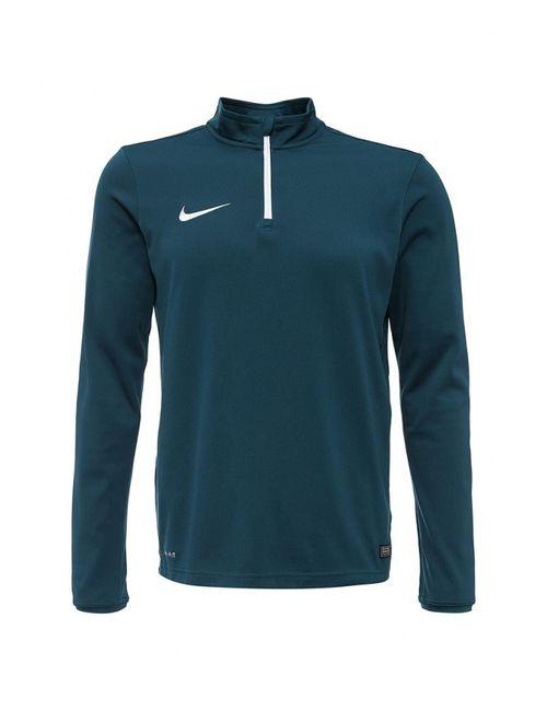Nike   Мужской Зелёный Лонгслив Спортивный