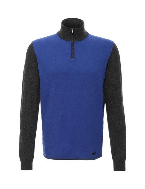 Trussardi Jeans   Мужское Синее Поло