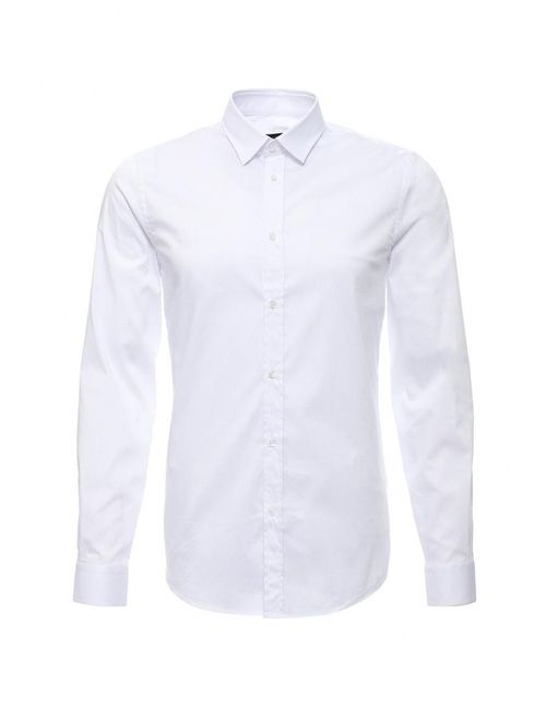 Trussardi Jeans   Мужская Белая Рубашка