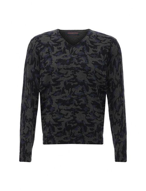 Trussardi Jeans | Мужской Многоцветный Пуловер