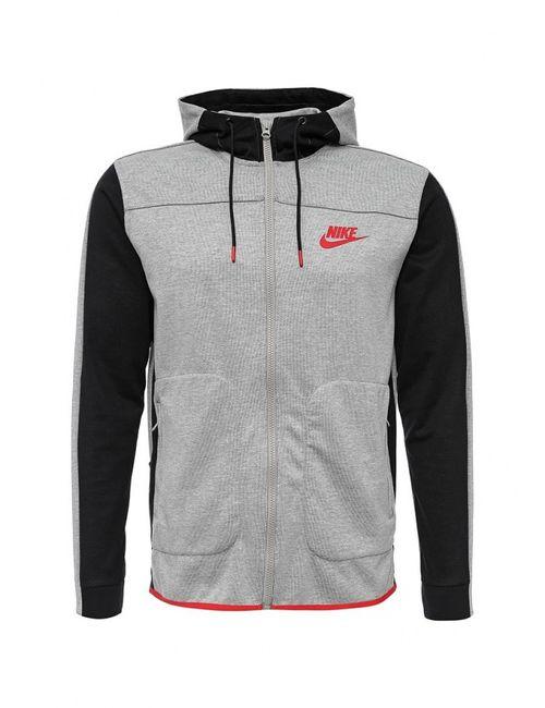 Nike | Мужская Серая Толстовка