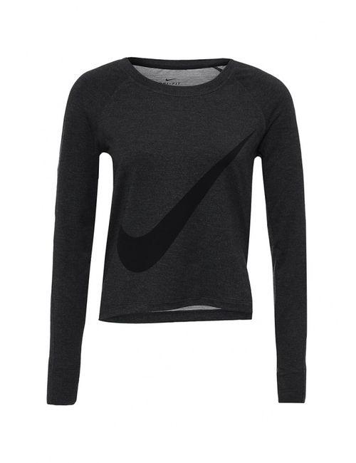 Nike | Женский Серый Лонгслив Спортивный