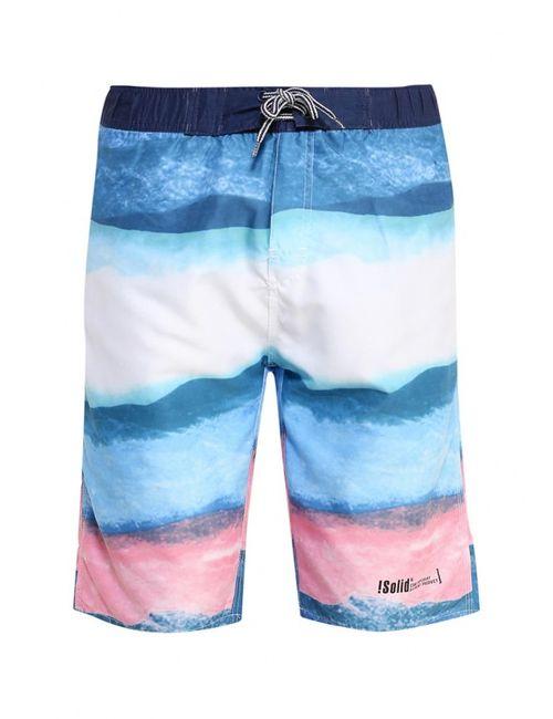 Solid | Мужские Многоцветные Шорты Для Плавания