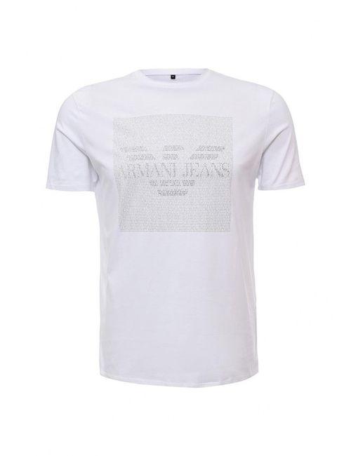 ARMANI JEANS | Мужская Белая Футболка