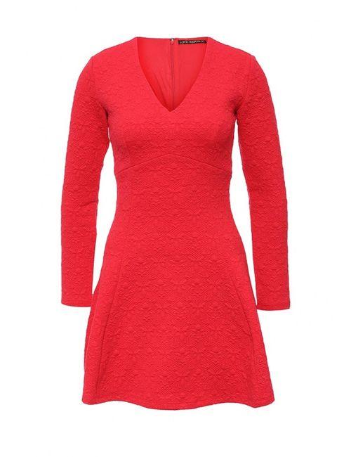 Love Republic   Женское Красное Платье