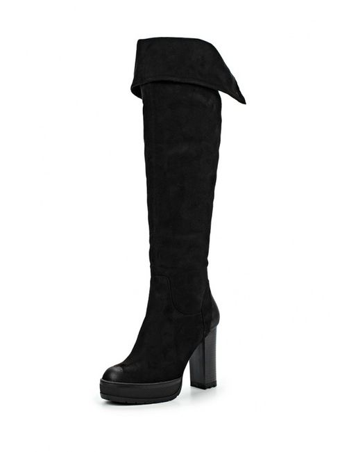 Itemblack | Женские Чёрные Ботфорты Item Black