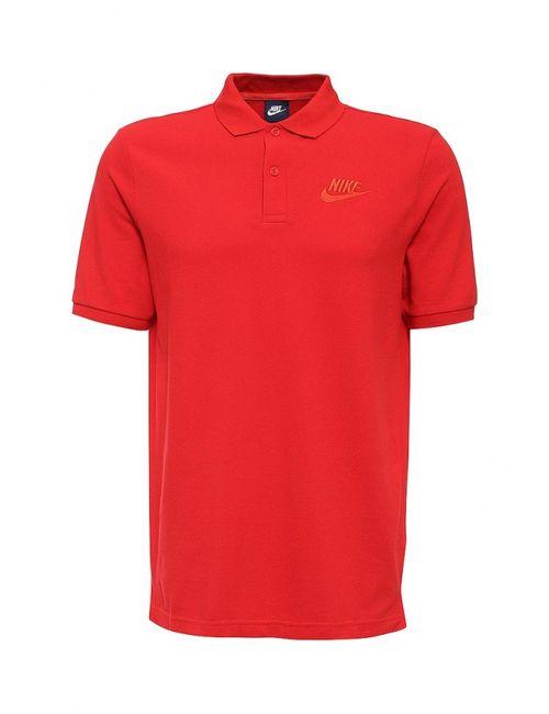 Nike | Мужское Красное Поло