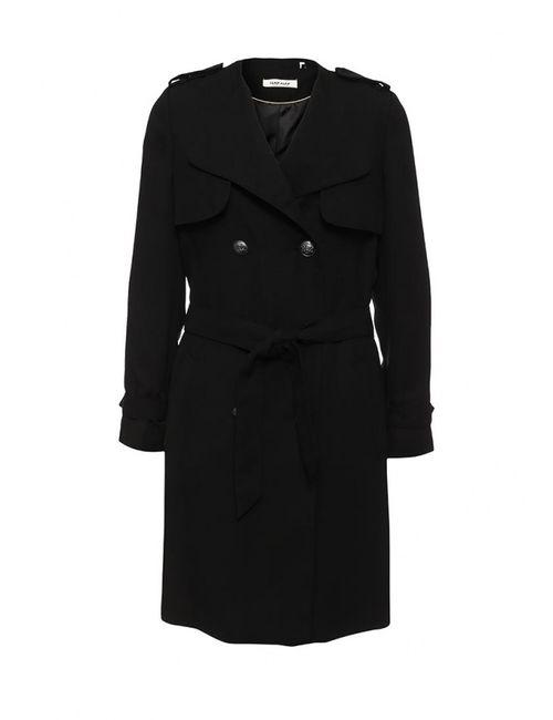 Naf Naf | Женское Чёрное Пальто