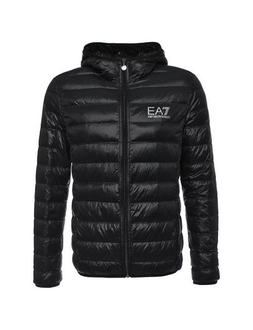 EA7 | Мужской Чёрный Пуховик
