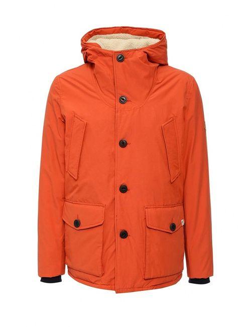 Jack & Jones | Мужская Оранжевая Куртка Утепленная Jack Amp Jones