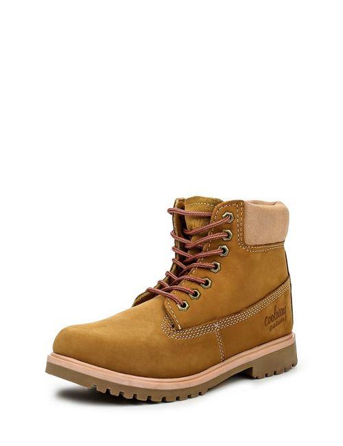 Coolway | Женские Коричневые Ботинки