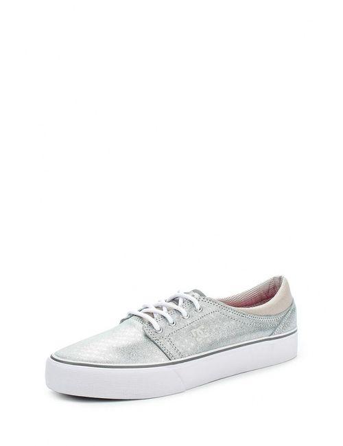 Dcshoes | Женские Серебряные Кеды Dc Shoes