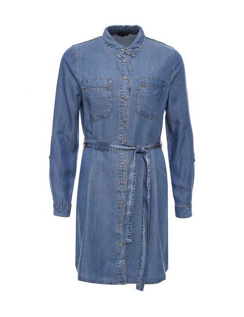 River Island | Женское Синее Платье Джинсовое