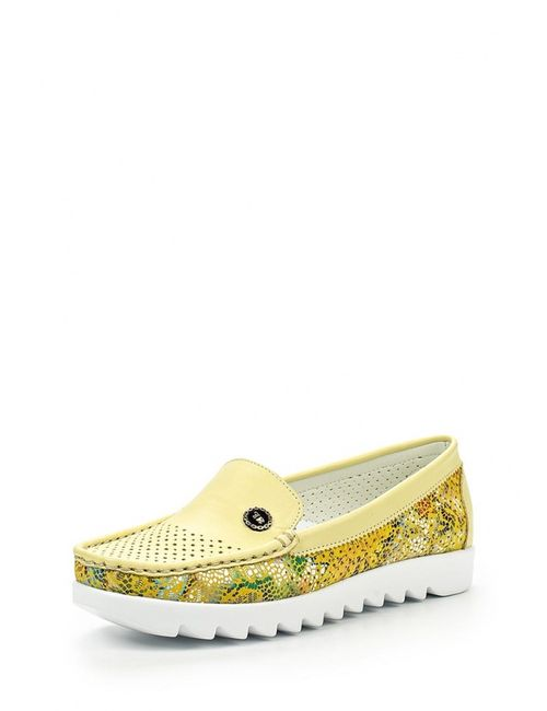 Gold Key | Женские Жёлтые Мокасины