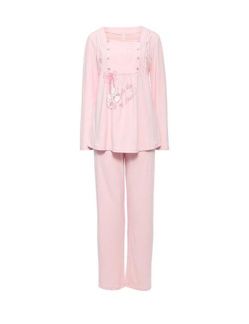 Relax Mode | Женская Розовая Пижама
