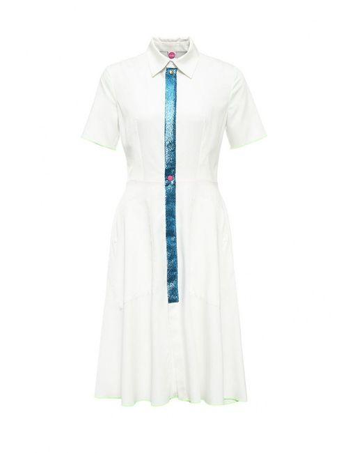 Bodra | Женское Белое Платье