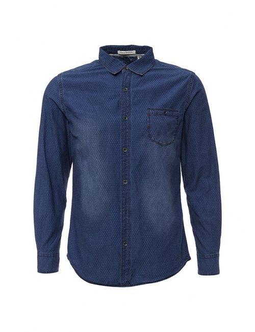 Tony Backer   Мужская Синяя Рубашка Джинсовая