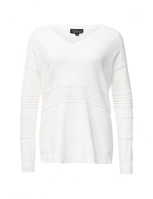 Topshop | Женский Белый Пуловер
