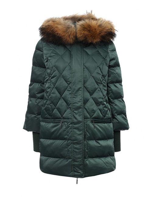 Savage | Женская Зелёная Куртка Утепленная