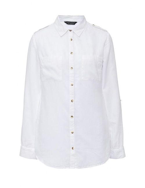 Dorothy Perkins | Женская Белая Рубашка