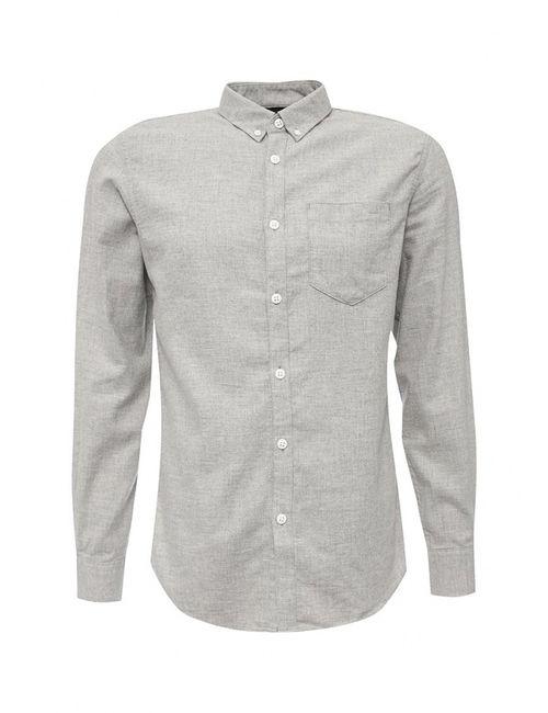 Jack & Jones | Мужская Серая Рубашка Jack Amp Jones