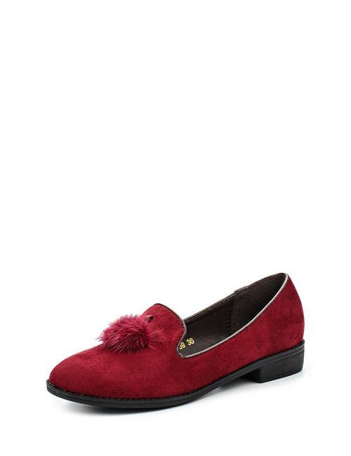 Ideal | Женские Красные Лоферы