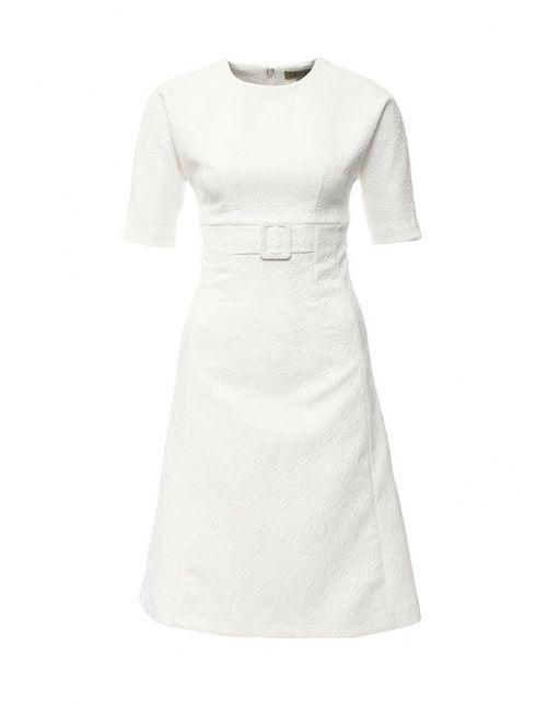 Devore | Женское Белое Платье