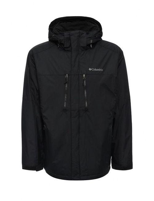 Columbia | Мужская Чёрная Куртка Утепленная